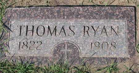 RYAN, THOMAS - Union County, South Dakota   THOMAS RYAN - South Dakota Gravestone Photos