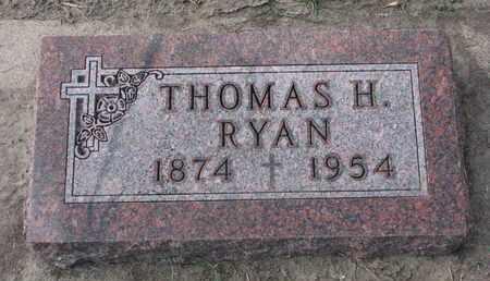RYAN, THOMAS H. - Union County, South Dakota   THOMAS H. RYAN - South Dakota Gravestone Photos