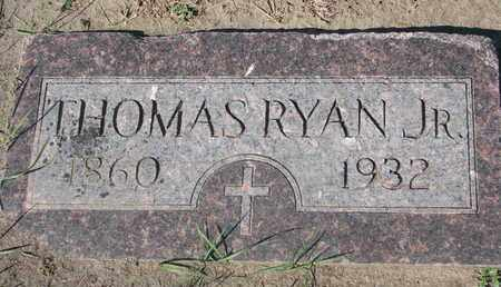 RYAN, THOMAS JR. - Union County, South Dakota | THOMAS JR. RYAN - South Dakota Gravestone Photos