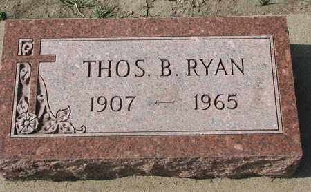 RYAN, THOMAS B. - Union County, South Dakota | THOMAS B. RYAN - South Dakota Gravestone Photos