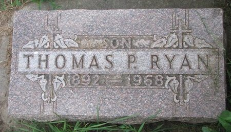 RYAN, THOMAS PATRICK - Union County, South Dakota | THOMAS PATRICK RYAN - South Dakota Gravestone Photos