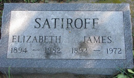 SATIROFF, JAMES - Union County, South Dakota | JAMES SATIROFF - South Dakota Gravestone Photos