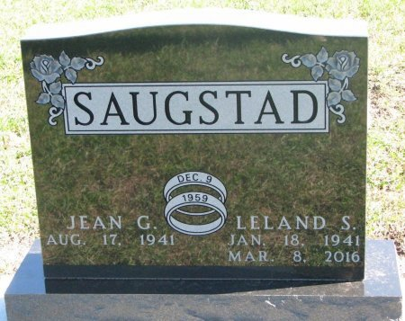 SAUGSTAD, LELAND STANLEY - Union County, South Dakota | LELAND STANLEY SAUGSTAD - South Dakota Gravestone Photos