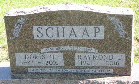 SCHAAP, DORIS D. - Union County, South Dakota | DORIS D. SCHAAP - South Dakota Gravestone Photos
