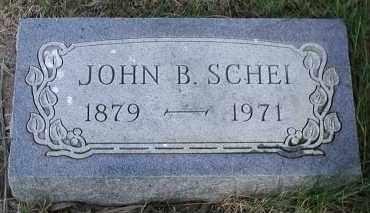 SCHEI, JOHN B. - Union County, South Dakota | JOHN B. SCHEI - South Dakota Gravestone Photos