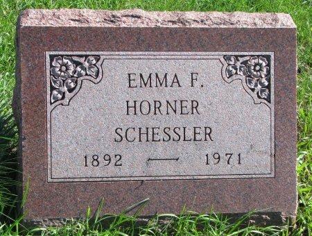 SCHESSLER, EMMA FRANCES - Union County, South Dakota | EMMA FRANCES SCHESSLER - South Dakota Gravestone Photos