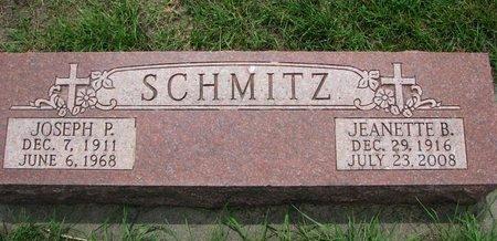 SCHMITZ, JEANETTE B. - Union County, South Dakota | JEANETTE B. SCHMITZ - South Dakota Gravestone Photos