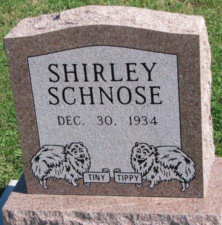 SCHNOSE, SHIRLEY - Union County, South Dakota | SHIRLEY SCHNOSE - South Dakota Gravestone Photos