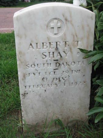 SHAY, ALBERT T. (MILITARY) - Union County, South Dakota | ALBERT T. (MILITARY) SHAY - South Dakota Gravestone Photos