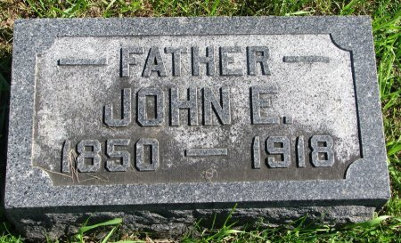 SINCLAIR, JOHN E. - Union County, South Dakota | JOHN E. SINCLAIR - South Dakota Gravestone Photos