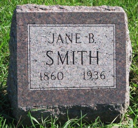 DAVIS SMITH, JANE B. - Union County, South Dakota | JANE B. DAVIS SMITH - South Dakota Gravestone Photos