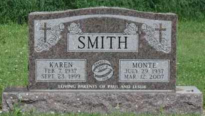 SMITH, MONTE - Union County, South Dakota | MONTE SMITH - South Dakota Gravestone Photos
