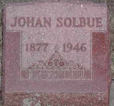 SOLBUE, JOHAN - Union County, South Dakota | JOHAN SOLBUE - South Dakota Gravestone Photos