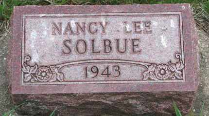 SOLBUE, NANCY LEE - Union County, South Dakota | NANCY LEE SOLBUE - South Dakota Gravestone Photos