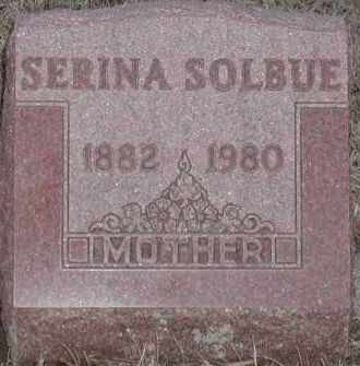 SOLBUE, SERINA - Union County, South Dakota | SERINA SOLBUE - South Dakota Gravestone Photos