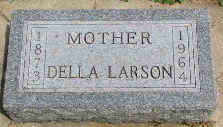 LARSON, DELLA - Union County, South Dakota   DELLA LARSON - South Dakota Gravestone Photos