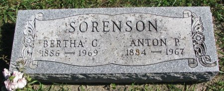 SORENSON, BERTHA C. - Union County, South Dakota | BERTHA C. SORENSON - South Dakota Gravestone Photos