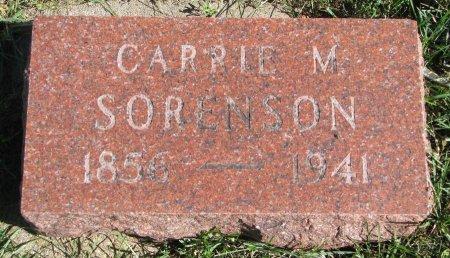 SORENSON, CARRIE M. - Union County, South Dakota   CARRIE M. SORENSON - South Dakota Gravestone Photos