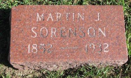 SORENSON, MARTIN J. - Union County, South Dakota | MARTIN J. SORENSON - South Dakota Gravestone Photos