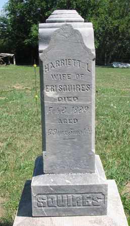 SQUIRES, HARRIETT L. - Union County, South Dakota | HARRIETT L. SQUIRES - South Dakota Gravestone Photos