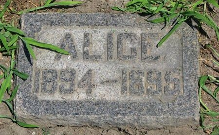 ST. ONGE, ALICE - Union County, South Dakota | ALICE ST. ONGE - South Dakota Gravestone Photos