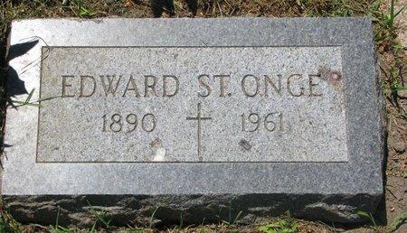 ST. ONGE, EDWARD - Union County, South Dakota   EDWARD ST. ONGE - South Dakota Gravestone Photos