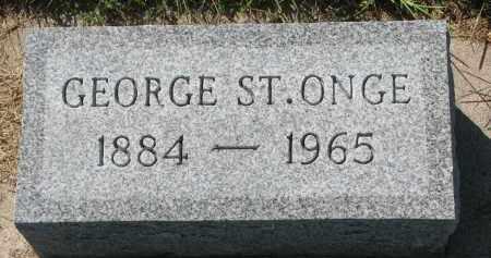 ST. ONGE, GEORGE - Union County, South Dakota   GEORGE ST. ONGE - South Dakota Gravestone Photos