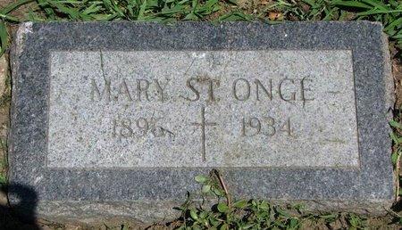 ST. ONGE, MARY - Union County, South Dakota | MARY ST. ONGE - South Dakota Gravestone Photos