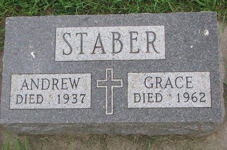 STABER, ANDREW - Union County, South Dakota | ANDREW STABER - South Dakota Gravestone Photos