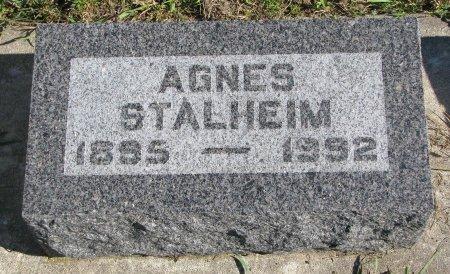 STALHEIM, AGNES - Union County, South Dakota | AGNES STALHEIM - South Dakota Gravestone Photos