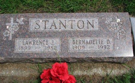 STANTON, BERNADETTE D. - Union County, South Dakota | BERNADETTE D. STANTON - South Dakota Gravestone Photos