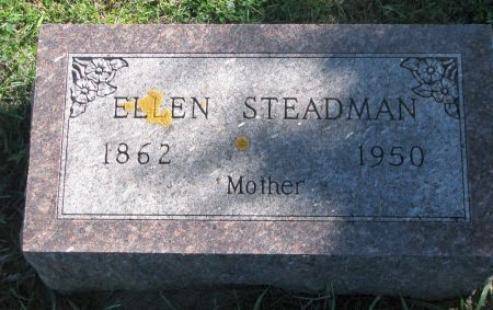 STEADMAN, ELLEN - Union County, South Dakota | ELLEN STEADMAN - South Dakota Gravestone Photos