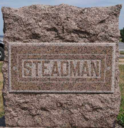 STEADMAN, *FAMILY MARKER - Union County, South Dakota | *FAMILY MARKER STEADMAN - South Dakota Gravestone Photos