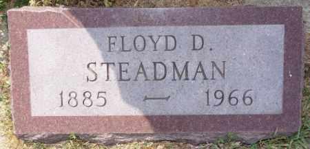 STEADMAN, FLOYD D - Union County, South Dakota | FLOYD D STEADMAN - South Dakota Gravestone Photos