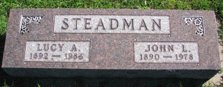 FENNESSY STEADMAN, LUCY A. - Union County, South Dakota | LUCY A. FENNESSY STEADMAN - South Dakota Gravestone Photos