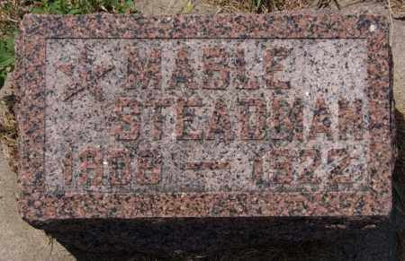 STEADMAN, MABLE - Union County, South Dakota | MABLE STEADMAN - South Dakota Gravestone Photos