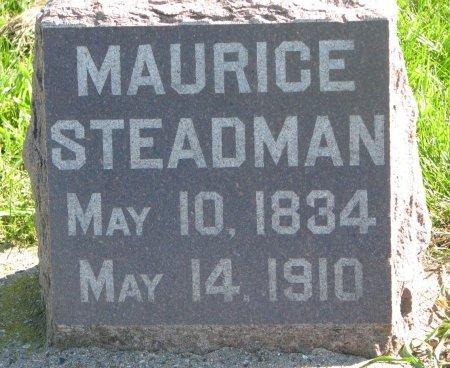 STEADMAN, MAURICE - Union County, South Dakota   MAURICE STEADMAN - South Dakota Gravestone Photos