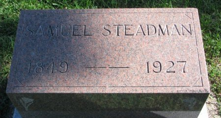 STEADMAN, SAMUEL - Union County, South Dakota | SAMUEL STEADMAN - South Dakota Gravestone Photos
