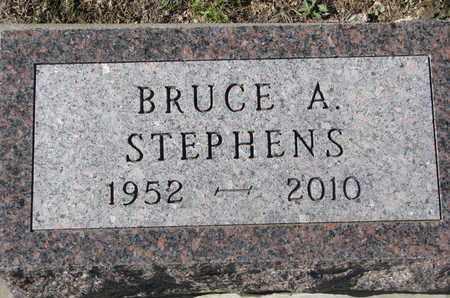 STEPHENS, BRUCE A. - Union County, South Dakota | BRUCE A. STEPHENS - South Dakota Gravestone Photos