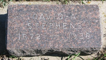 STEPHENS, DAVID A. - Union County, South Dakota | DAVID A. STEPHENS - South Dakota Gravestone Photos