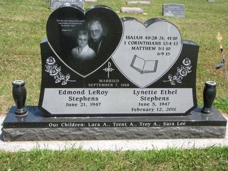 STEPHENS, EDMOND LEROY (FRONT OF STONE) - Union County, South Dakota | EDMOND LEROY (FRONT OF STONE) STEPHENS - South Dakota Gravestone Photos