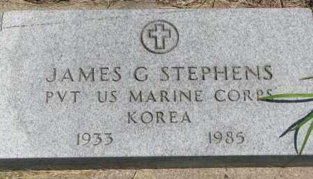 STEPHENS, JAMES G. - Union County, South Dakota | JAMES G. STEPHENS - South Dakota Gravestone Photos