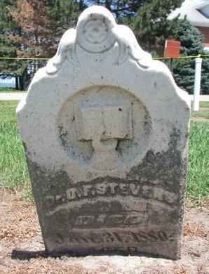 STEVENS, O.F. (DR.) - Union County, South Dakota | O.F. (DR.) STEVENS - South Dakota Gravestone Photos
