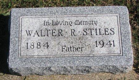STILES, WALTER R. - Union County, South Dakota | WALTER R. STILES - South Dakota Gravestone Photos