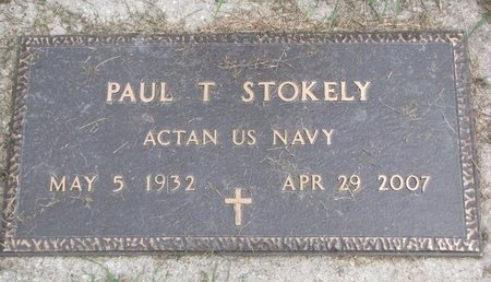 STOKELY, PAUL T. (US NAVY) - Union County, South Dakota | PAUL T. (US NAVY) STOKELY - South Dakota Gravestone Photos