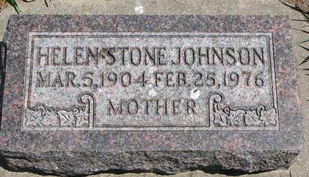 JOHNSON STONE, HELEN - Union County, South Dakota | HELEN JOHNSON STONE - South Dakota Gravestone Photos