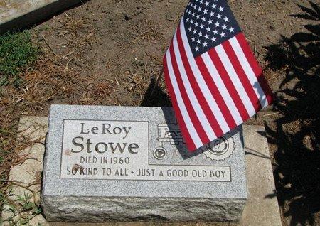 STOWE, LEROY - Union County, South Dakota | LEROY STOWE - South Dakota Gravestone Photos