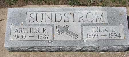 SUNDSTROM, ARTHUR R. - Union County, South Dakota | ARTHUR R. SUNDSTROM - South Dakota Gravestone Photos