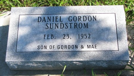 SUNDSTROM, DANIEL GORDON - Union County, South Dakota | DANIEL GORDON SUNDSTROM - South Dakota Gravestone Photos