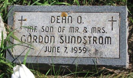 SUNDSTROM, DEAN O. - Union County, South Dakota   DEAN O. SUNDSTROM - South Dakota Gravestone Photos